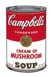 Campbell's Soup I: Cream of Mushroom, c.1968 Plakater af Andy Warhol