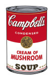 Campbell's Soup I: Cream of Mushroom, c.1968 Art by Andy Warhol
