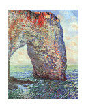 The Manneporte near Etretat, c.1886 Pôsters por Claude Monet