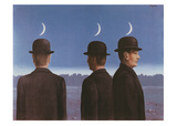 Le Chef d'Oeuvre Ou les Mysteres de l'Horizon, c.1955 Affiches par Rene Magritte
