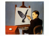 La Clairvoyance Art by Rene Magritte