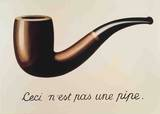 La Trahison des Images Posters by Rene Magritte