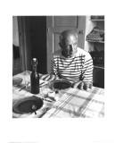 Les Pains de Picasso, Vallauris 1952 Affiches par Robert Doisneau