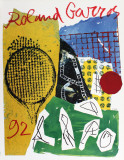 Roland Garros, 1992 Samlertryk af Jan Voss