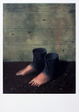 Das rote Modell Kunstdrucke von Rene Magritte