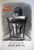 Girl at a Chair Samlarprint av Ken Danby