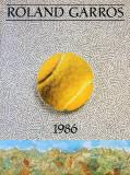 Roland Garros, 1986 Samlertryk af Jiri Kolar