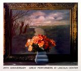 Roses with Dutch Landscape Spesialversjon av Ben Schonzeit