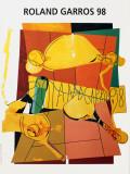Roland Garros, 1998 Collectable Print by Herve Télémaque