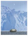 アンハイムの領地 ポスター : ルネ・マグリット