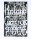 Roland Garros, 2005 Collectable Print by Jaume Plensa