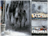 Foule du Soir Poster von Anne Virlange