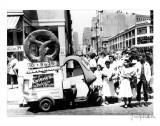 Pretzel Vendor, Brooklyn, New York, c.1956 Poster