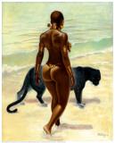 The Protector Poster af Sterling Brown