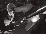 Robert Goddard Adjusting a Steering Vane Photographic Print by B. Anthony Stewart