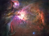 The Orion Nebula Was Born in Enormous Clouds of Gas and Dust Photographic Print
