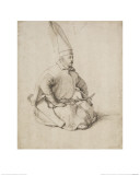 A Turkish Janissary Giclee Print by Gentile Bellini