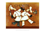 Chef's Cheers Prints by Sydney Wright