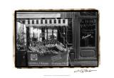Café Charm, Paris I Posters by Laura Denardo