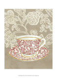 High Tea III Prints by Chariklia Zarris