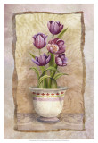 Spring Tulips Poster by Abby White