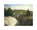 Sun Setting Behind 18th, Pasatiempo Premium Giclee Print by Michael G. Miller