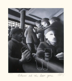 Where's All the Beer Gone Collectable Print by Mackenzie Thorpe