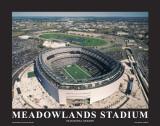 New York Giants at New Meadowlands Stadium Plakat av Mike Smith