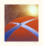 A Crossroads Collectable Print by Mackenzie Thorpe