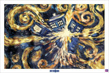 Dr. Who - explodierende Tardis Poster
