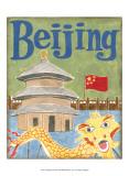 Pequim Poster por Megan Meagher