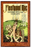 Fleetwood Mac, Tacoma, Washington Poster von Bob Masse