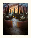 In and Out of Work Impressão colecionável por Mackenzie Thorpe