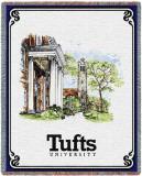 Tufts University, Collage Throw Blanket