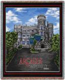 Arcadia University, Castle Throw Blanket