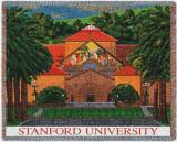Stanford University, Memorial Church Throw Blanket