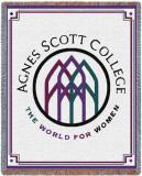 Agnes Scott College Throw Blanket