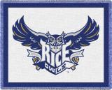 Rice University Throw Blanket