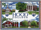 Hood College, Collage Throw Blanket