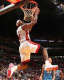 Washington Wizards v Miami Heat: LeBron James Foto von Victor Baldizon
