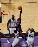 New York Knicks v Sacramento Kings: Amare Stoudemire Foto af Rocky Widner