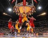Chicago Bulls v Los Angeles Lakers: Derek Fisher Photo by Andrew Bernstein