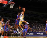 New York Knicks v Golden State Warriors: Stephen Curry Photographie par Rocky Widner