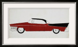 Car, c.1959 Prints by Andy Warhol