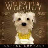 Wheaten Dark Roast Poster by Stephen Fowler