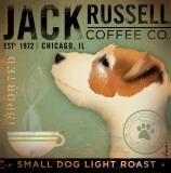 Jack Russel Coffee Co. Kunst von Stephen Fowler