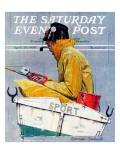 """Sport"" Saturday Evening Post Cover, April 29,1939 Giclée-Druck von Norman Rockwell"