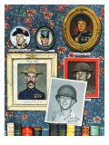 """""""Willie Gillis Generations"""", September 16,1944 Giclee Print by Norman Rockwell"""