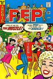 Archie Comics Retro: Pep Comic Book Cover No.313 (Aged) Stampe
