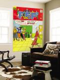 Archie Comics Retro: Pep Comic Book Cover No.248 (Aged) Carta da parati decorativa
